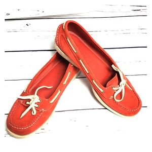 Bally red Baltica slide on shoes size 37.5 italy